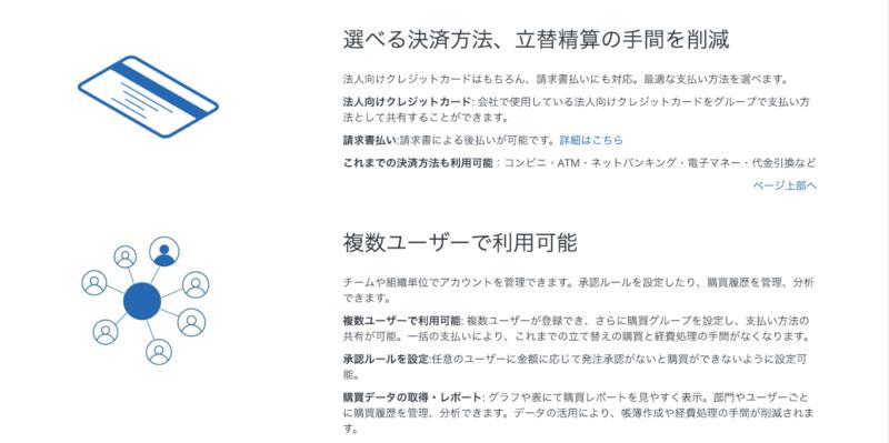 アマゾンビジネス詳細